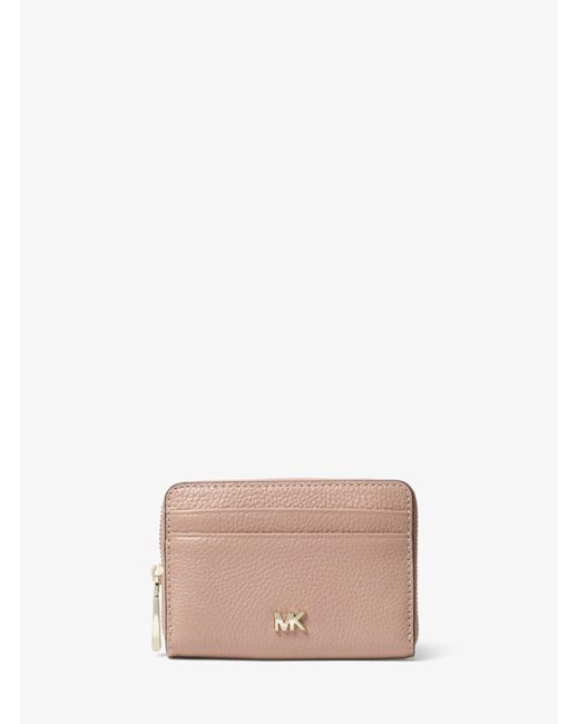 Michael Kors - Multicolor Small Pebbled Leather Wallet - Lyst