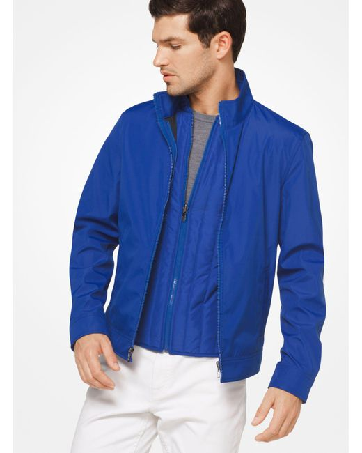 Michael Kors - Blue 3-in-1 Tech Track Jacket for Men - Lyst