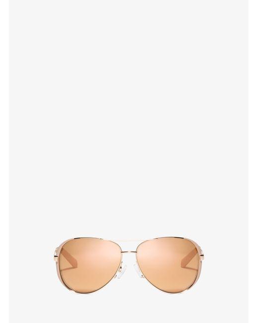 Michael Kors - Pink Chelsea Sunglasses - Lyst