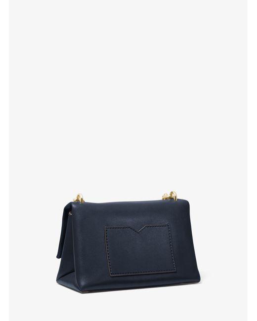 720427b0d347 ... Michael Kors - Blue Cece Extra-small Leather Crossbody Bag - Lyst ...
