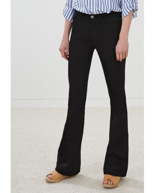 MiH Jeans | Black Flare Jeans | Lyst