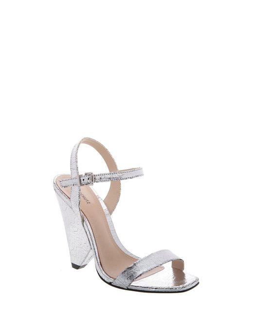 Schutz - Metallic Liliane Triangle Heel Sandal - Lyst