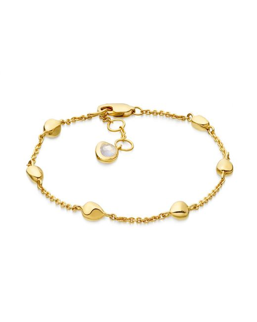 Missoma - Metallic Gold Nugget Bracelet - Lyst