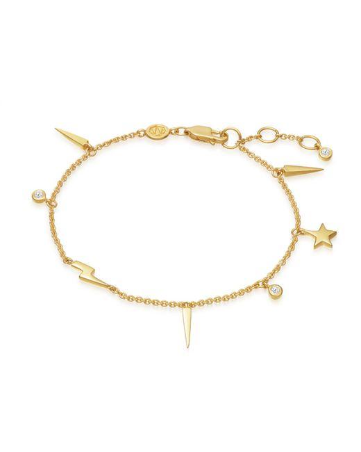 Missoma - Metallic Gold Twilight Bracelet - Lyst