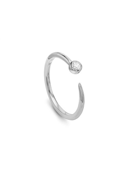 Missoma - Metallic Silver Interstellar Ring - Lyst