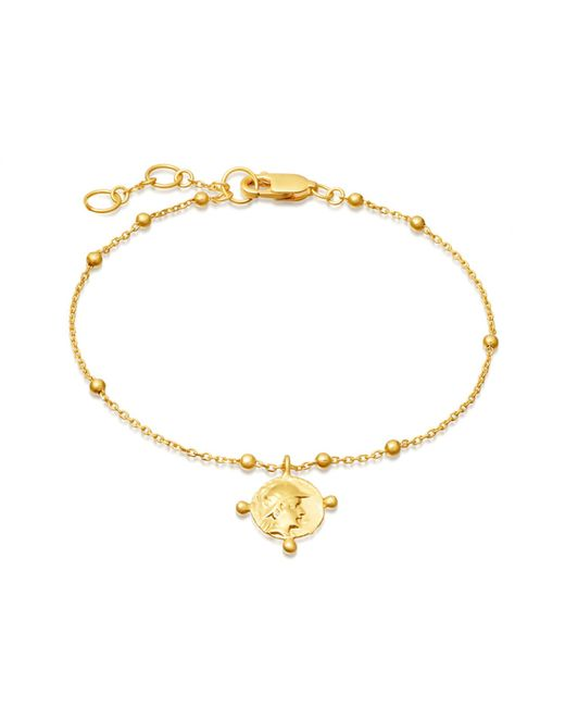 Missoma - Metallic Lucy Williams X Beaded Coin Bracelet - Lyst