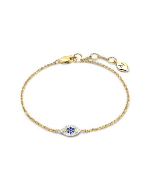 Missoma | Metallic Evil Eye Bracelet | Lyst