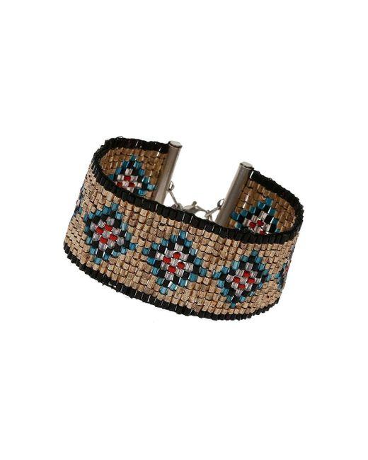 Miss Selfridge | Multicolor Beaded Bracelet | Lyst
