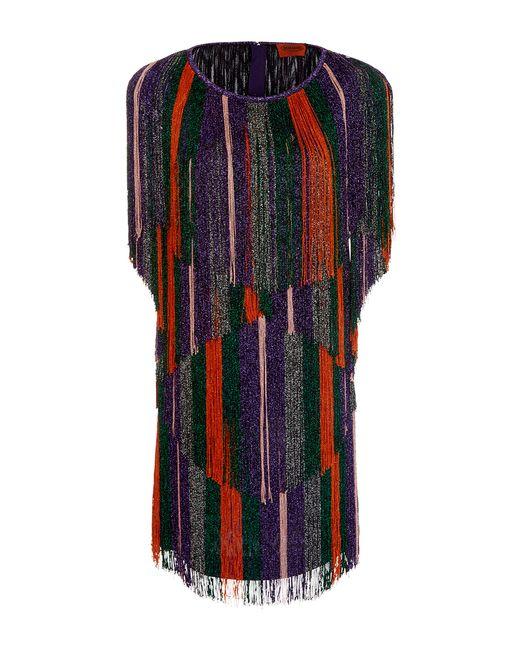 Missoni   Multicolor Short Dress   Lyst
