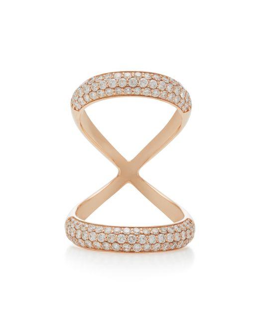 Carbon & Hyde - White Olympus 18k Rose Gold Diamond Ring - Lyst