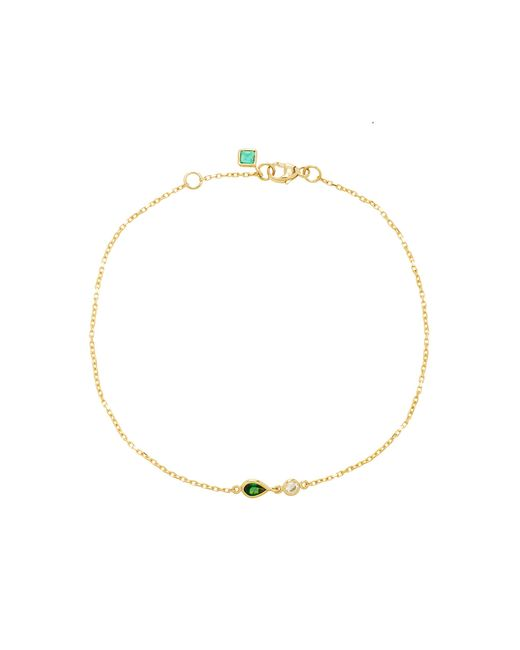 Yi Collection | Green 18k Gold, Tsavorite And Diamond Bracelet | Lyst