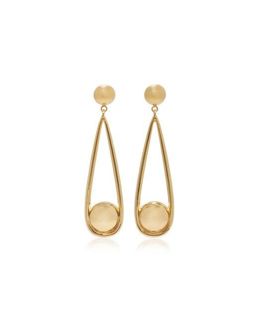 Agmes | Metallic Claire Gold Vermeil Earrings | Lyst