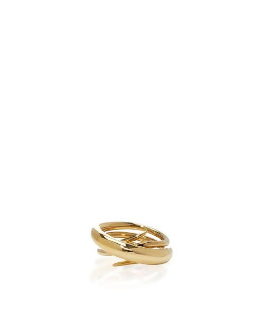 Charlotte Chesnais   Metallic Gold Hurly Burly Ring   Lyst