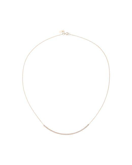 Vanrycke | Pink Officiel 18k Rose Gold Diamond Necklace | Lyst