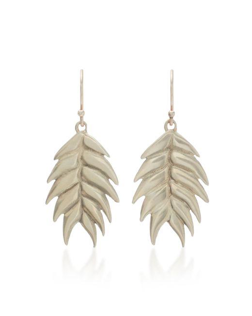 Annette Ferdinandsen - Metallic Wild Oat 14k Gold Drop Earrings - Lyst
