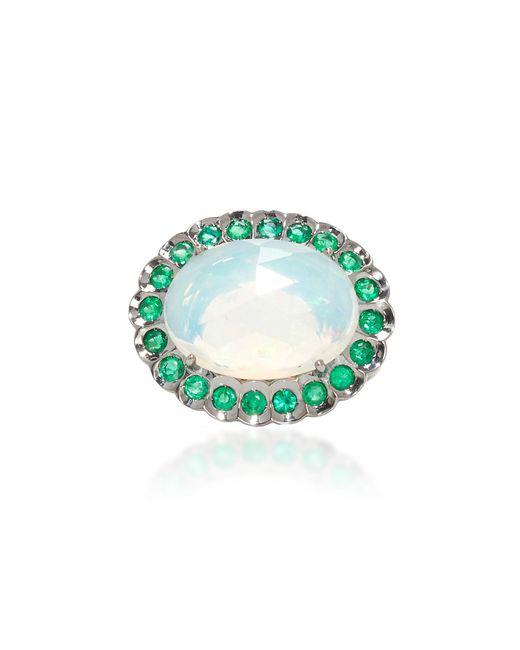 Lauren K | Blue Opal And Emerald Harper Ring | Lyst