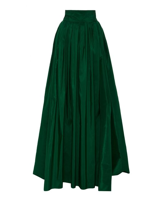 Carolina Herrera - Green Ball Skirt - Lyst