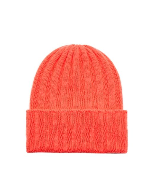 The Elder Statesman - Red M'o Exclusive Short Bunny Echo Beanie - Lyst