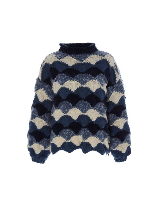 Tuinch - Blue Exclusive Oversized Cashmere Sweater - Lyst