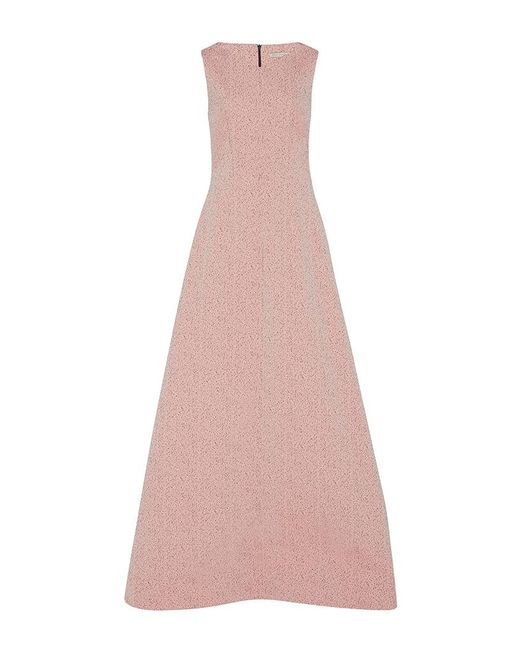 Emilia Wickstead | Pink The Exclusive Fiona Pebbled Gown | Lyst