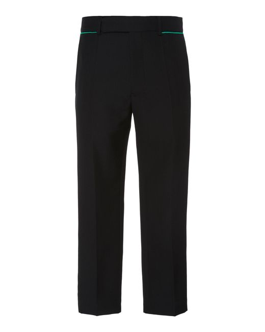 Haider Ackermann - Black Embroidered Wool Trousers for Men - Lyst
