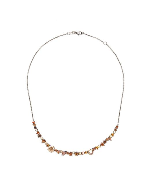 Kimberly Mcdonald - 18k Gold And Brown Diamond Choker Necklace - Lyst