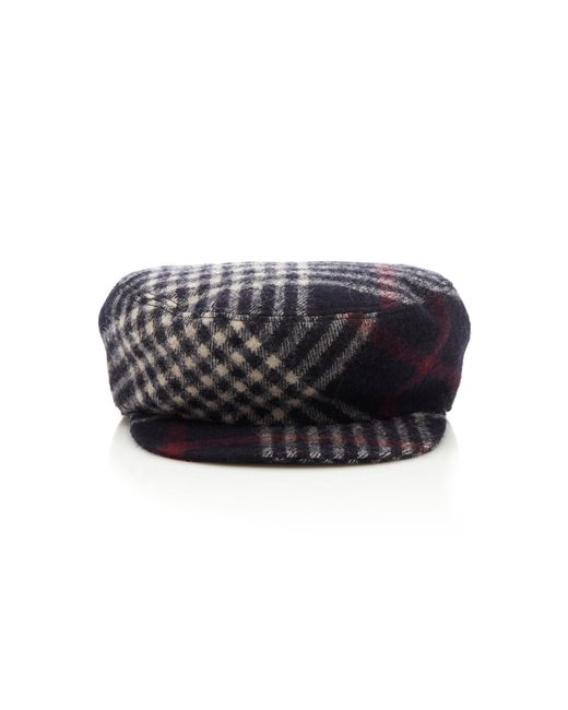 82dd2af1e320 Isabel Marant - Multicolor Naly Checked Wool Cap - Lyst ...