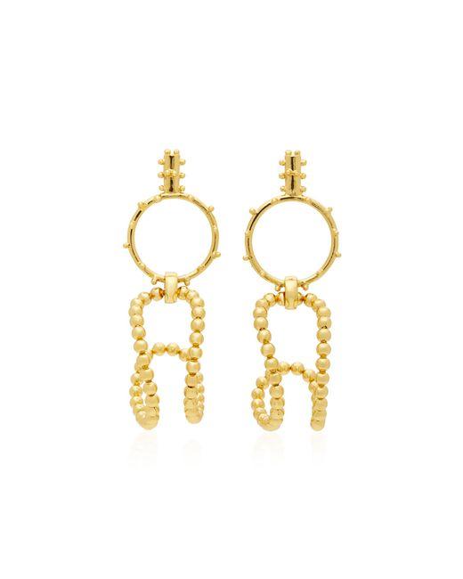 Paula Mendoza | Metallic Stbc Bubble 24k Gold-plated Earrings | Lyst