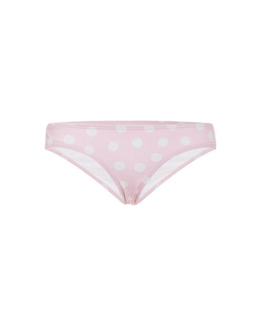 Ephemera - Pink Dotted Low-rise Bikini Briefs - Lyst