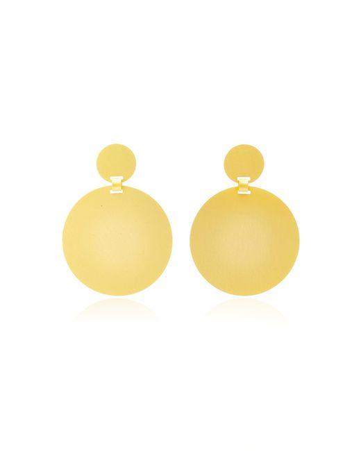 Paula Mendoza - Metallic Sikuani Gold-plated Brass Earrings - Lyst