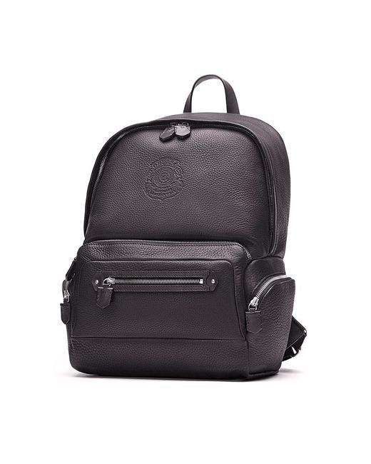 Ghurka - Black Unisex Leather Backpack - Lyst