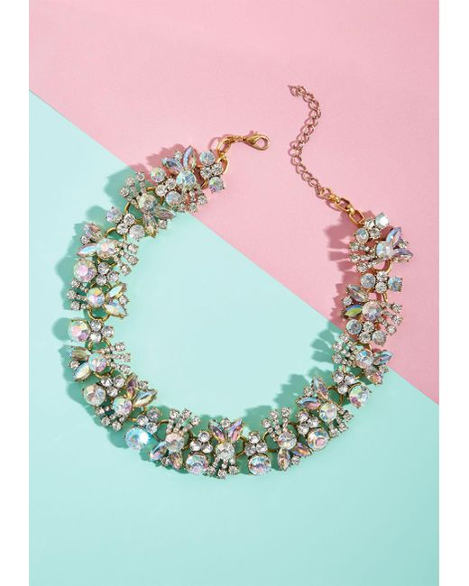 ModCloth | Multicolor Bold On Tight Statement Necklace | Lyst