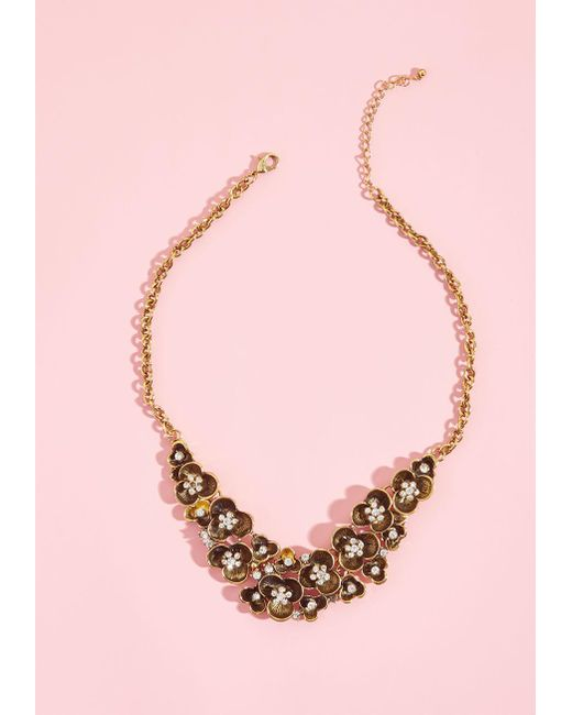ModCloth | Multicolor Bada Bling, Bada Bloom Statement Necklace | Lyst