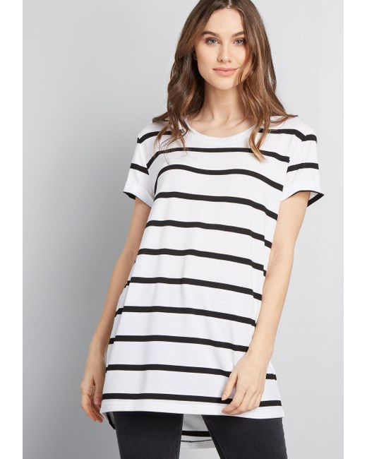 ModCloth - White Simplicity On A Saturday Tunic - Lyst