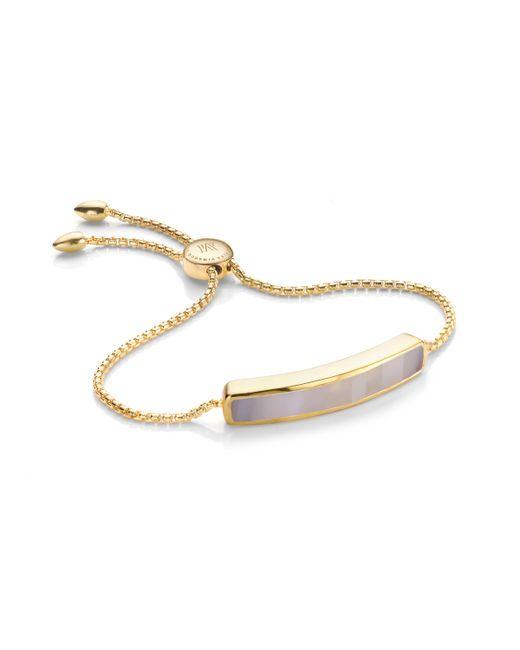 Monica Vinader - Gray Baja Bracelet - Lyst