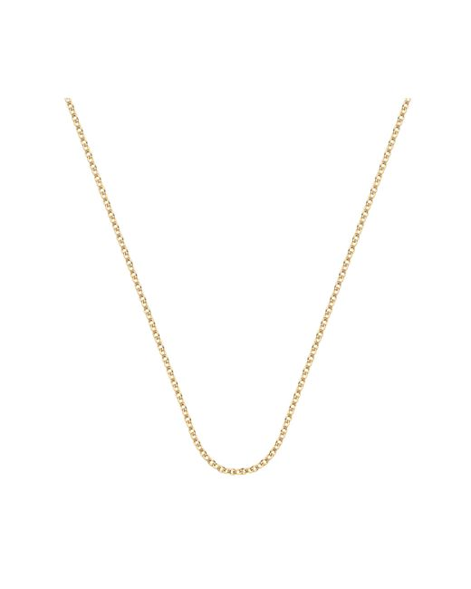 "Monica Vinader - Metallic Rolo Chain 24""/61cm With Adjuster - Lyst"