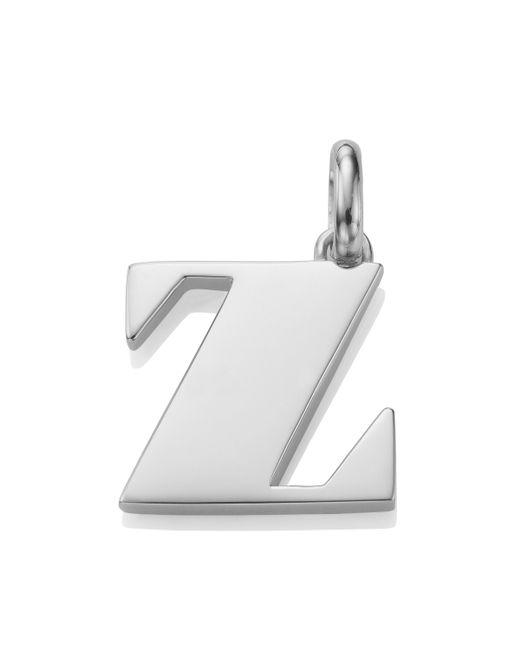 Monica Vinader - Metallic Alphabet Pendant Z - Lyst