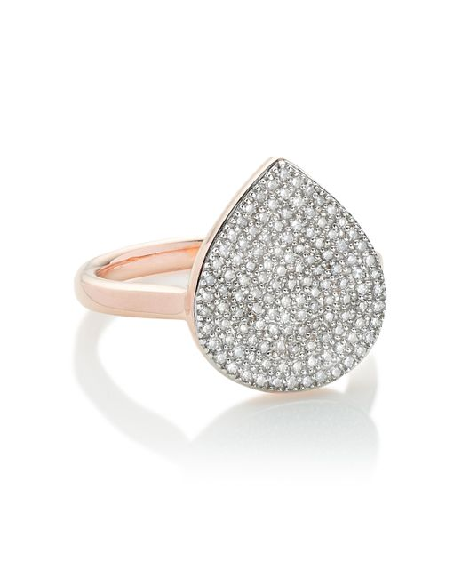 Monica Vinader | Metallic Alma Ring | Lyst