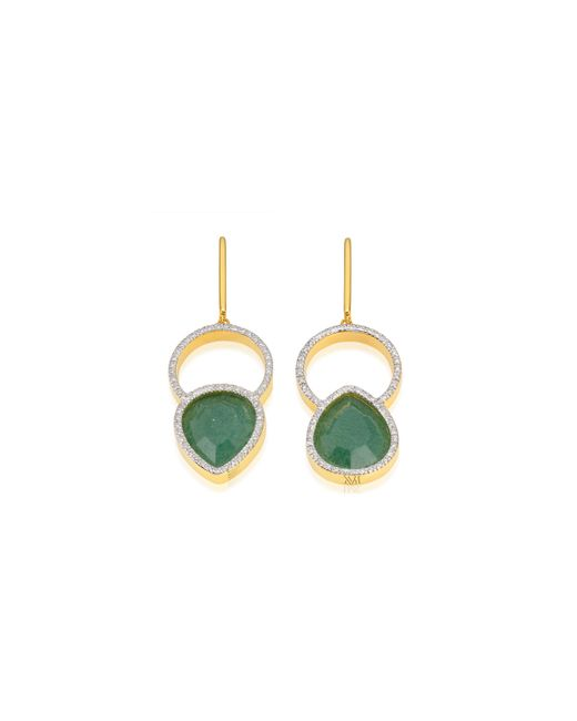 Monica Vinader | Metallic Naida Kiss Cocktail Earrings | Lyst