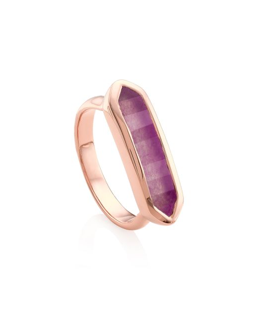 Monica Vinader | Purple Baja Ring | Lyst