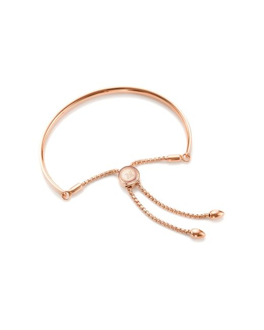Monica Vinader | Metallic Fiji Friendship Petite Chain Bracelet | Lyst