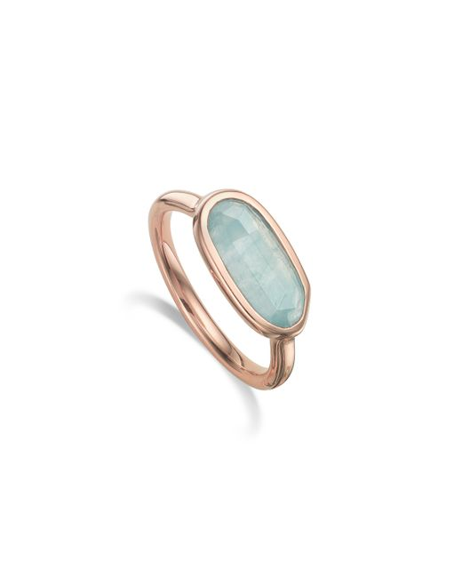 Monica Vinader | Blue Vega Ring | Lyst
