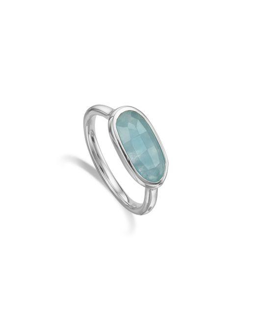 Monica Vinader | Blue Vega Ring | Lyst