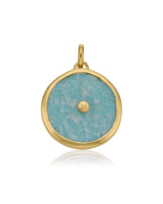 Monica Vinader | Metallic Atlantis Eye Pendant | Lyst