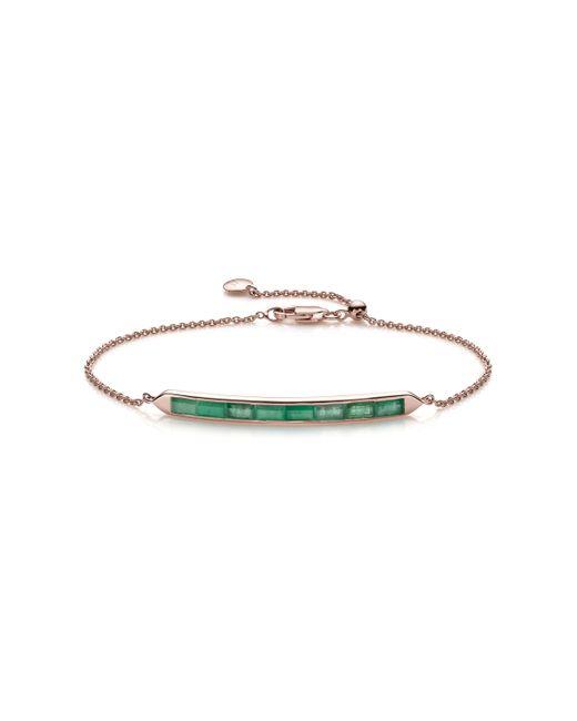 Monica Vinader   Green Baja Precious Skinny Bracelet   Lyst
