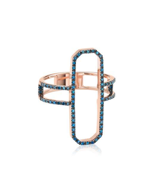 Monica Vinader - Blue Naida Cocktail Ring - Lyst