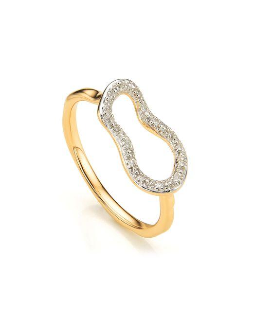 Monica Vinader | Metallic Riva Mini Pod Ring | Lyst