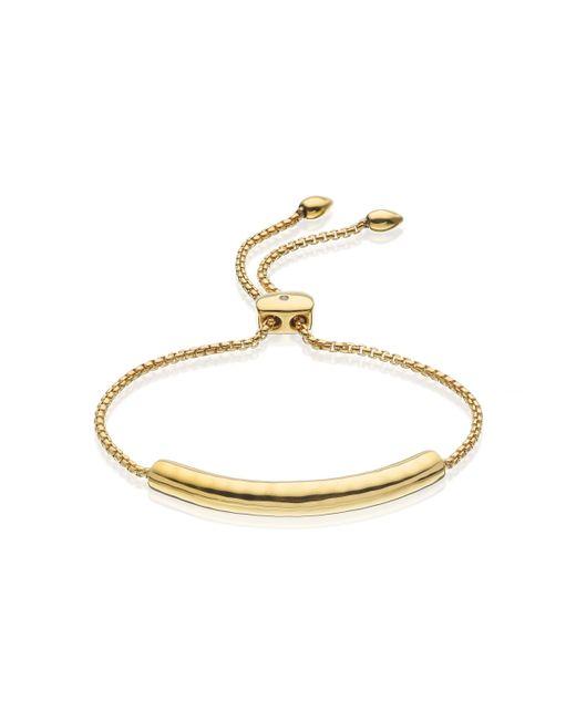 Monica Vinader | Metallic Esencia Chain Bracelet | Lyst