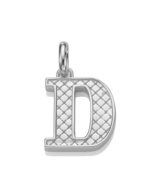 Monica Vinader - Metallic Alphabet Pendant D - Lyst