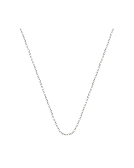 """Monica Vinader - Metallic Rolo Chain 32""""/81cm With Adjuster - Lyst"""